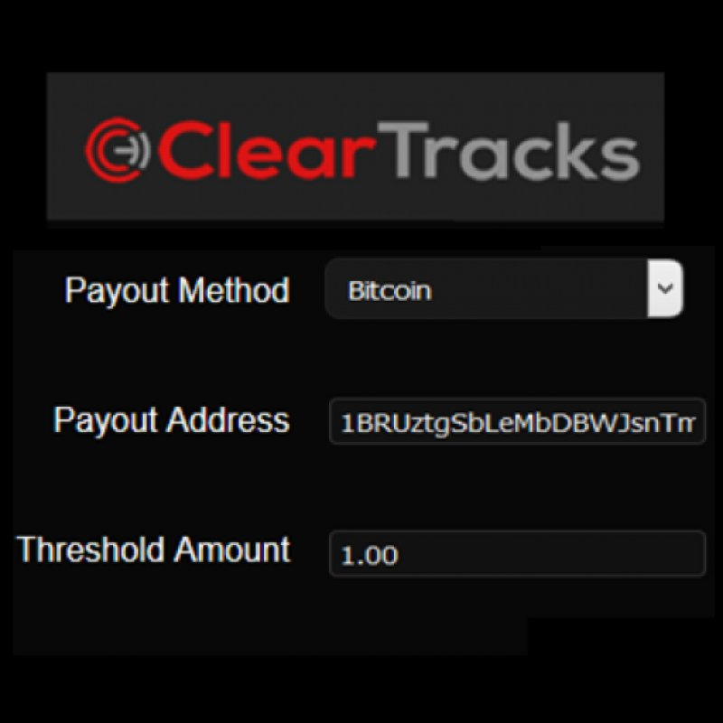ClearTracks can now pay out sales and royalties in Bitcoin